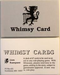 Whimsy Cards