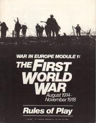 War in Europe Module #1 - The First World War