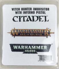 Witch Hunter Inquisitor w/Inferno Pistol