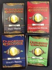 Warlord Power Card Lot - Player Handbook and Martial Power!