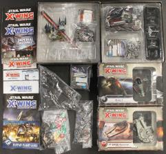 X-Wing Miniatures Collection #13 - 2 Base Games + 8 Additional Ships!