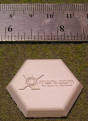 Hex Flight Bases w/Xmarx Logo (5)