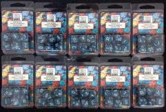 Poly Set Sea (7) - Ten 7 Piece Sets!