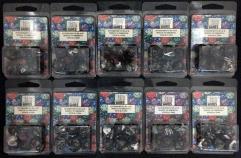 Poly Set Black w/Gold (7) - Ten 7 Piece Sets!