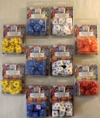Full Poly Set Assorted Colors (10) - Ten 10 Piece Sets!