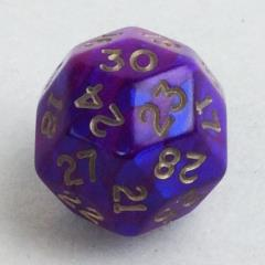 d30 Purple w/Gold (20mm)