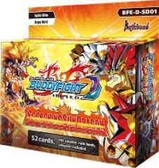 Triple D Starter Deck Vol. 1 - Scorching Sun Dragon Display