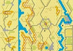 "Imaginative Strategist - YZE'R 5/8"" Panzer Leader Desert Map"