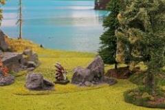 Rocks with Ravine