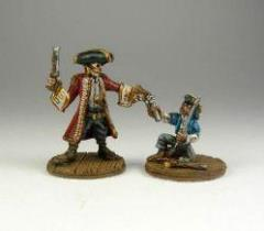 Captain Blackbeard & Jimmy Orphan