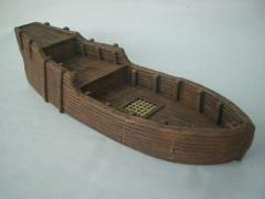 Hull of a Caravel