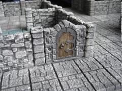 Wall w/Door