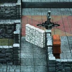 Dungeon Corridor Walls