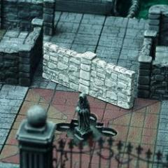 Dungeon Double Corridor Walls