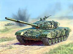 T72B Russian Main Battle Tank