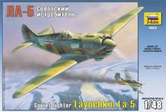 Lavochkin La-5 - Soviet WWII Fighter