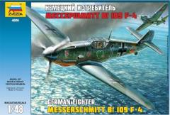 Messerschmitt Bf-109 F4 - German Fighter