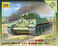 Soviet Medium Tank T-34/76 1940
