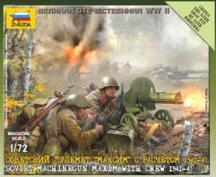 Soviet Machine Gun - Maxim w/Crew 1941-1943
