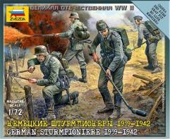 German Sturmpioniere w/Crew