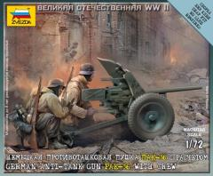 German Anti-tank Gun PAK-36 w/Crew