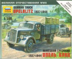 German Truck Obelblitz 1937-1944