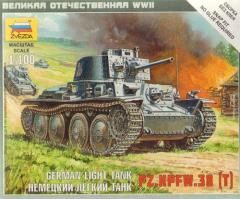 German Light Tank - PZ.KPFW.38 (T)