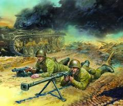 Soviet Anti-Tank Team 1941-43