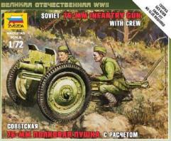 Soviet 76mm Gun w/Crew