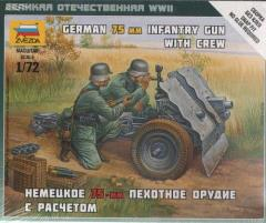 German 75mm Infantry Gun w/Crew