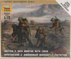 "British 3"" Mortar w/Crew"