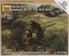 British Anti-Tank Gun - Ordnance QF 2 Pdr. w/Crew