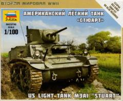 "M3A1 ""Stuart"" US Light Tank"