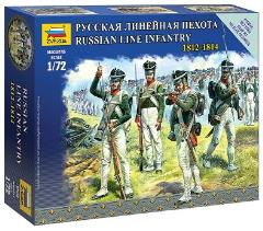 Russian Line Infantry - 1812-1814