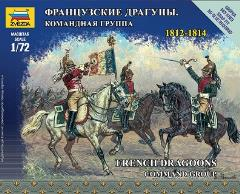 French Dragoons - Command Group - 1812-1814