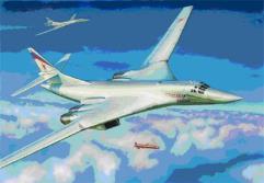 Tupolev TU-160 Russian Supersonic Bomber