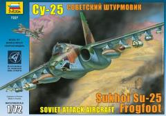 Soviet SU-25 Frogfoot Attack Aircraft