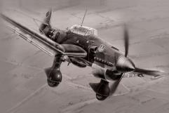 """JU-87B2 """"Stuka"""" - German Dive Bomber"""