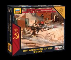 Soviet NSV 12.7 Utes Machine-Gun Crew