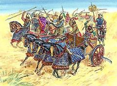 Persian Chariot & Cavalry - 500-400 BC