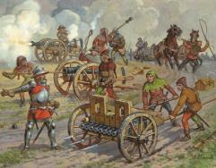 Medieval Field Powder Artillery - 14th-15th Century
