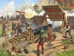 Medieval Heavy Bombard - 14th-15th Century