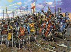 English Knights of the 100 Years War - 14th-15th Century