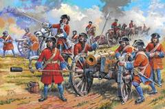 Russian Artillery of Peter the Great - 17th-18th Century
