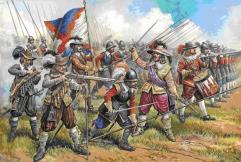 Austrian Musketeers & Pikemen - 17th Century