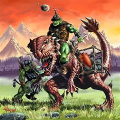 Orcish Siege Saurus