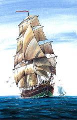 English Brigantine (1/100)