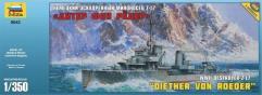 """WWII German Destroyer Z-17 """"Diether von Roeder"""""""