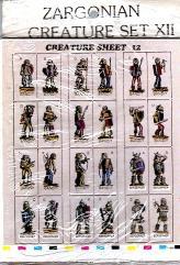 Creature Set #12 - Bandits & Berserkers (72)