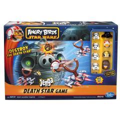 Angry Birds - Jenga Death Star Game
